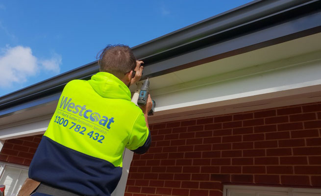 Gutter replacement - Westcoat Fascia replacement